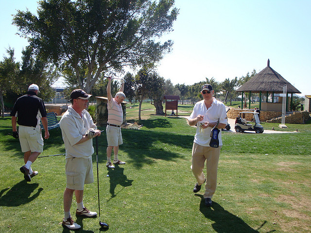 golfen spanje